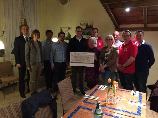 Spende für das Regenbogenhaus in Fulda