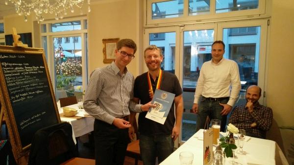 Dennis Herget ist neues Mitglied bei Round Table 189 Fulda