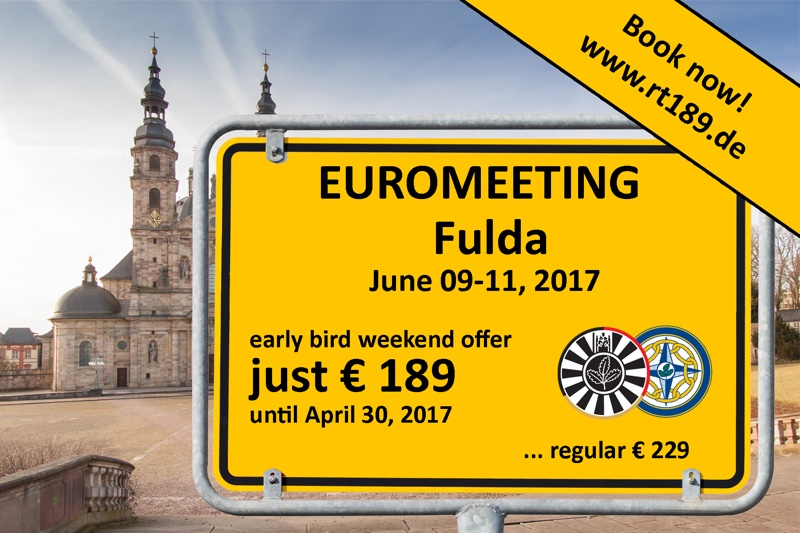 Euromeeting 2017 – Welcome to Fulda!
