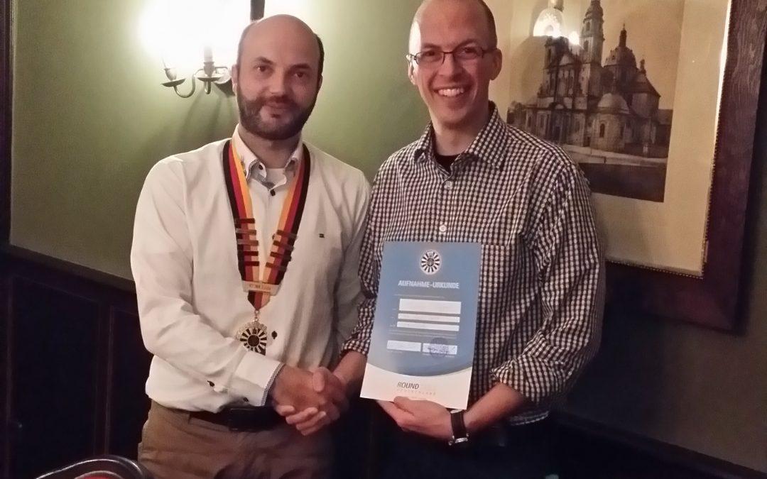 Thomas Plappert als neues Mitglied aufgenommen