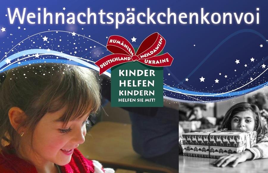 Kinder helfen Kindern –Der Weihnachtspäkchenkonvoi #WPK18
